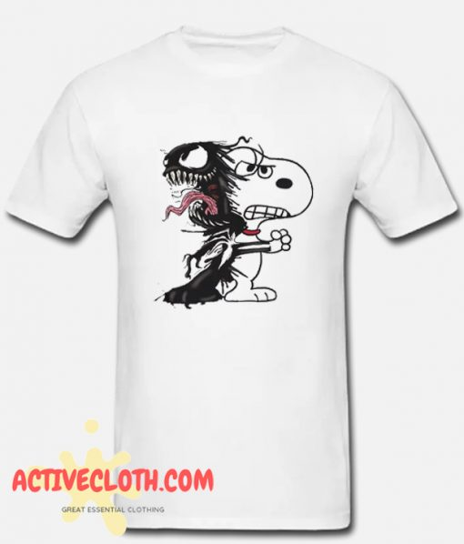 Snoopy and Venom T Shirt