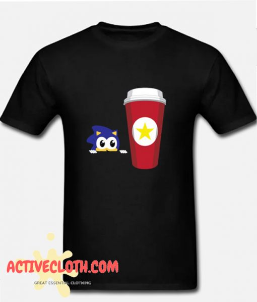 Sonic and Coffee! T Shirt