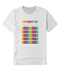 100 Days Of Crayons T Shirt