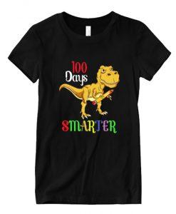 100 Days Smarter Happy 100th Day Of School Student Teacher T-Shirt