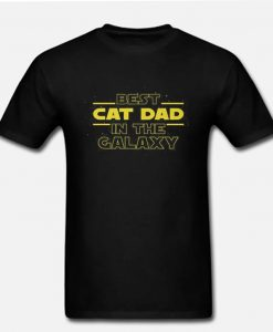 Cat Lovers Best Cat Dad Ever RZ T-Shirt
